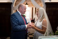 Bride and Groom Vows Littleton Park House