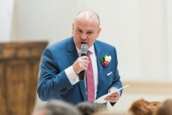 Groom Speech Orangery Shepperton