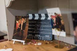 Wedding Mini Clapper Boards