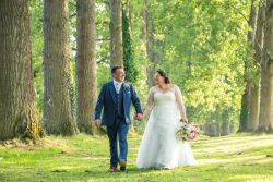 Wedded bliss in the countryside